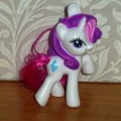 McDonald's 2012 My Little Pony Rarity Happy Meal Toy Hasbro Loose Used
