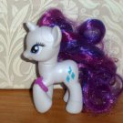 My Little Pony 2010 Rarity Royal Gem Carriage Pony Only Toy Hasbro Loose Used