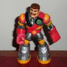 Fisher-Price Rescue Heroes #77457 Voice Tech Mission Command Billy Blazes Firefighter Loose Used