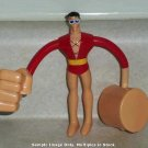 McDonald's 2010 Batman The Brave and the Bold Plastic Man Figure Happy Meal Toy DC Comics Loose Used
