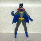 McDonald's 1993 Batman the Animated Series Batgirl Figure Happy Meal Toy DC Loose Used Paint Rubs