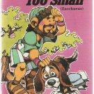 Too Tall Too Small  Zacchaeus by Mary Manz Simon Softcover Book Used