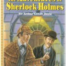 The Adventures Of Sherlock Holmes Treasury of Illustrated Classics Hardcover Used