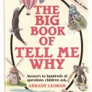 Big Book of Tell Me Why Hardcover Book Used