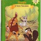Bambi A Noisy Neighbor Disney's Storytime Treasures Library Vol. 12  Hardcover Book Used