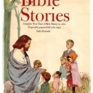 The Young Peoples Book of Bible Stories 1963 Hardcover Book Used