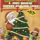 Ho! Ho! Ho! : A Jolly Holiday Sticker Book Paperback Used