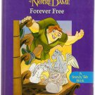Disney's The Hunchback of Notre Dame Forever Free Mouse Works Sturdy Tab Book Hardcover Used