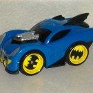 Fisher-Price M7726 Shake 'N Go Racers Blue Batmobile Mattel 2008 Loose Used