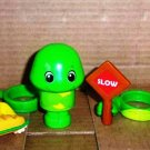 Pop on Pals Travis The Turtle with Accessories Spin Master Magic Ladder Loose Used