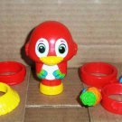 Pop on Pals Priscilla The Parrot with Accessories Spin Master Magic Ladder Loose Used