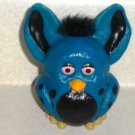 Burger King Furbies Blue and Black Furby with Flapping Ears 2005 Kids Meal Toy Loose
