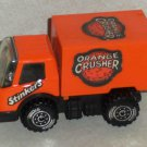 Tonka Orange Crushers Stinkers Delivery Truck Loose Used