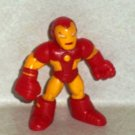 Marvel Super Hero Squad Iron Man Red and Yellow Armor Action Figure Hasbro 2008 Loose Used