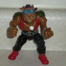 Teenage Mutant Ninja Turtles 1988 Bebop Action Figure Playmates TMNT Loose Used B