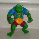 Teenage Mutant Ninja Turtles 1989 Genghis Frog Action Figure Playmates TMNT Loose Used