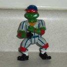 Teenage Mutant Ninja Turtles 1991 Grand Slammin' Raph Action Figure Playmates TMNT Loose Used
