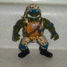 Teenage Mutant Ninja Turtles 1991 Lieutenant Leo Action Figure Playmates TMNT Loose Used