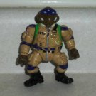 Teenage Mutant Ninja Turtles 1991 Pro Pilot Don Action Figure Playmates TMNT Loose Used