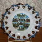 Vintage Iowa Collector Plate Circa 1970s Loose Used