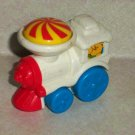 Mcdonald's Fisher-Price White Train Engine U3 Happy Meal Toy 2001 Loose Used