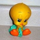 Baby Tweety Vinyl Squeaky Toy 1994 Tyco Playtime Warner Bros Loose Used