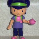 McDonald's 2006 Strawberry Shortcake Tea Blossom Teapot Doll Happy Meal Loose Used