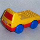 Little Tikes Lego Toddle Tot Truck Yellow and Red Loose Used