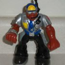 Fisher-Price Rescue Heroes Jake Justice Silver and Black Outfit  Loose Used