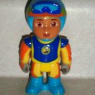 Fisher-Price Diego Figure Only from Go Diego Go To-the-Rescue Transforming Dune Buggy Loose Used