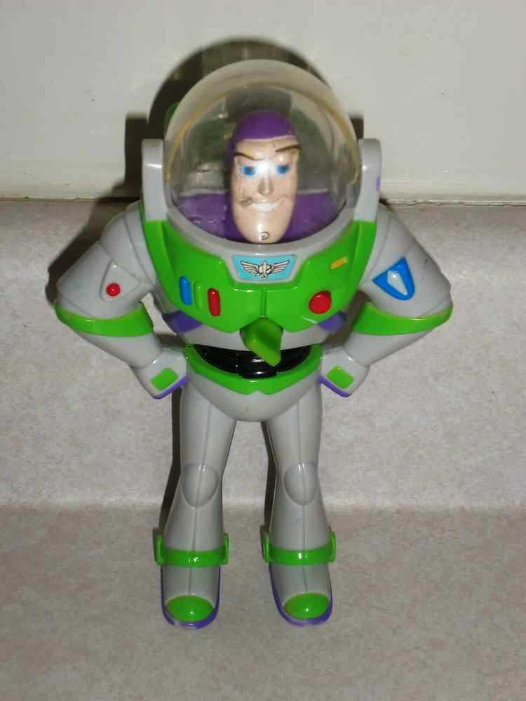 McDonaldu0026#39;s Toy Story 2 Buzz Lightyear Candy Dispenser Disney 1999 Loose Used