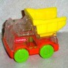 Wendy's 2003 Playskool Dump Truck Kids Meal Toy Hasbro Loose Used