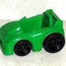 Fisher-Price Green Race Car Mattel Loose Used