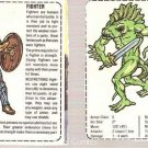 Dungeons & Dragons Fantasy Candy Figures Lot of 2 Cards