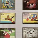 Disney Premium Lot of 5 Regular Cards + #90 Holobossed