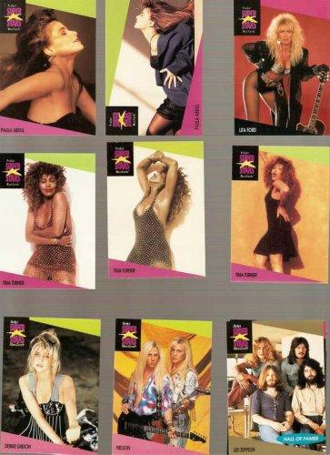 Lot of 12 1991 Pro Set SuperStars MusiCards