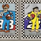 Race Toons 2 Card Promo Set King Country Billy Bob