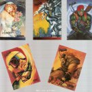 Spider-Man Premiere 1995 Ultra Lot of 5 Cards Marvel Comics