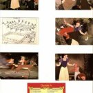 Lot of 8 Snow White and the Seven Dwarfs Cards Disney