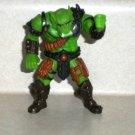 "Chap Mei Savage Warrior Beast Raiders Slime 3.75"" Action Figure Excite 2001 Loose Used"