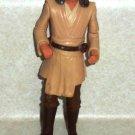 Star Wars Qui-Gon Jinn Jedi Duel Action Figure Hasbro 1998 Loose Used
