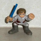 Star Wars Galactic Heroes Luke Skywalker Action Figure Hasbro 2006 Loose Used