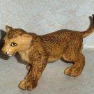 Safari Ltd. 1996 Lion Cub PVC Toy Animal Loose Used