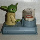 McDonald's 2011 Star Wars Clone Wars Yoda Levitator Happy Meal Toy  Loose Used