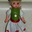 McDonald's 2010 Madame Alexander Gretel Doll Happy Meal Toy Loose Used