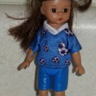 McDonald's 2005 Madame Alexander Kick It Girl Doll Happy Meal Toy Loose Used