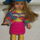 McDonald's 2003 Madame Alexander Hannah Pepper Doll Happy Meal Toy Loose Used