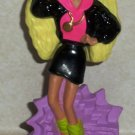 McDonald's 1992 Rappin' Rockin' Barbie Doll Happy Meal Toy Loose Used