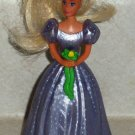 McDonald's 1994 Barbie Bridesmaid Skipper Figurine Doll Happy Meal Toy Loose Used
