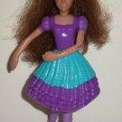 McDonald's 2006 Barbie Dancing Princesses Princess Isla Doll Happy Meal Toy Loose Used